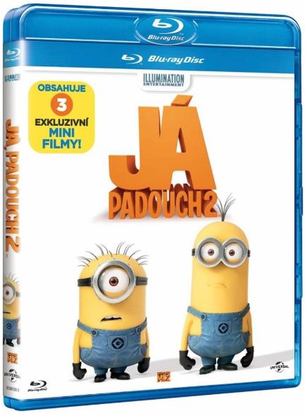 Já, padouch 2 Blu-ray