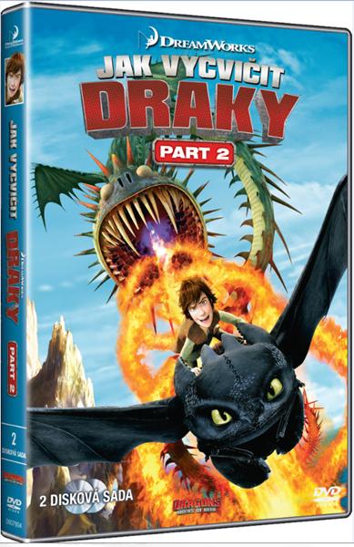 2DVD Jak vycvičit draky ( TV seriál ) 2. část