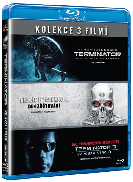 Terminator 1-3 Blu-ray