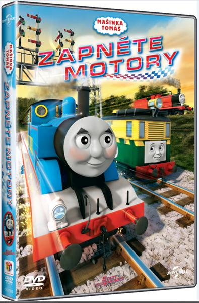 DVD Mašinka Tomáš : Zapněte motory