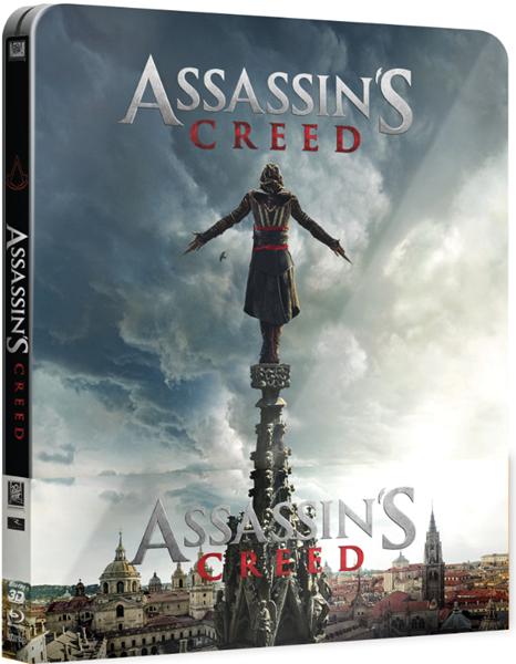 Assassin's Creed Blu-ray 3D + 2D Steelbook