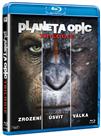 Planeta opic Trilogie 3 Blu-ray
