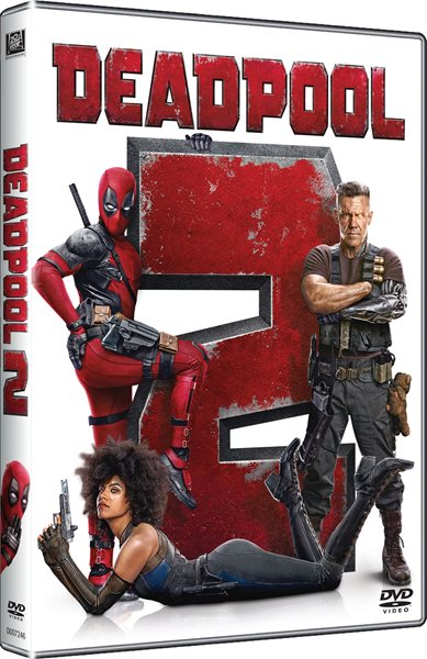 DVD Deadpool 2