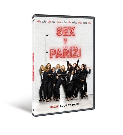 DVD Sex v Paříži - neuveden - 13x19 cm