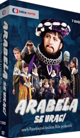 DVD Arabela se vrací - neuveden - 13x19 cm
