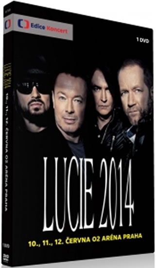 DVD Lucie 2014 - neuveden - 13x19 cm, Sleva 10%