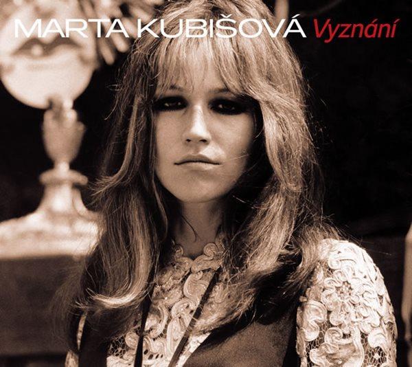 CD Marta Kubišová: Vyznání - Kubišová Marta - 13x14 cm