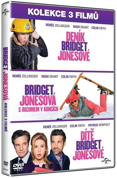 Bridget Jonesová Kolekce 3 DVD - Sharon Maguire, Beeban Kidron
