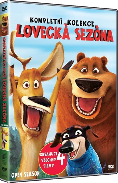 Lovecká sezóna kolekce 4 DVD