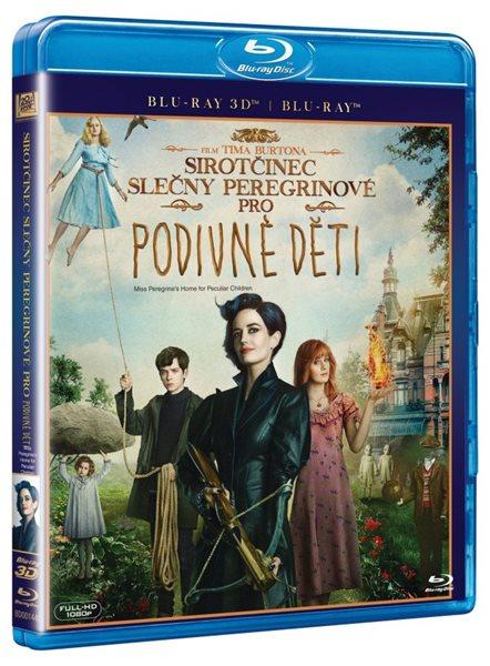 Sirotčinec slečny Peregrinové pro podivné děti 3D + 2D Blu-ray - Tim Burton