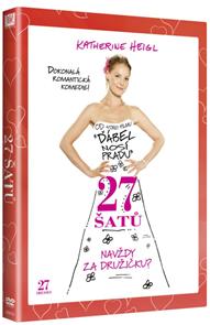 DVD 27 šatů