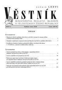 Věstník MŠMT ČR 2020/002