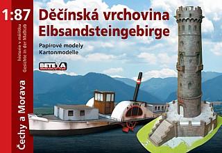 Děčínská vrchovina - 319x220 mm, sešitová