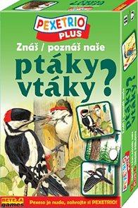 Pexetrio - Znáš naše ptáky?