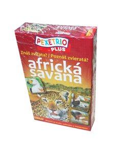 Pexetrio - Znáš zvířata Africké Savany ?