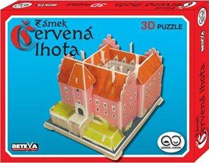 Zámek Červená Lhota - 3D puzzle