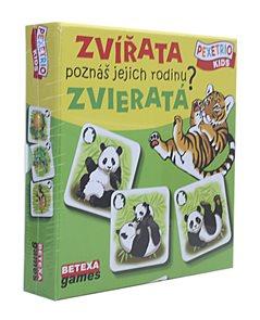 Pexetrio Kids - Zvířata - Poznáš jejich rodinu ?