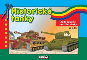 Historické tanky - jednoduché vystřihovánky