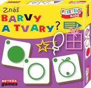 Pexetrio Kids - Znáš barvy a tvary ?