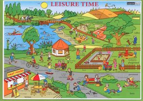 Leisure Time - tabulka lamino A4