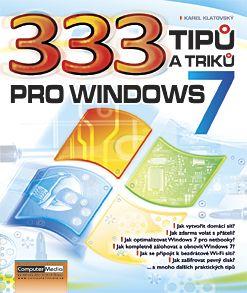 333 tipů a triků pro Windows 7 - Klatovský Karel - 17x23 cm