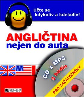 Angličtina nejen do auta + mp3 Pro začátečníky - 12x15
