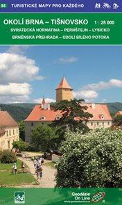 Okolí Brna - Tišnovsko 1:25 000 - Turistické mapy pro každého