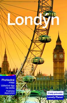 Londýn - turistický průvodce Lonely Planet - 13x20