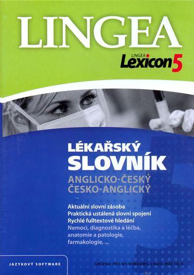 Lexicon 5 Anglický lékařský slovník - neuveden - 19x13,5