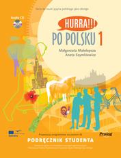 Hurra !!! Po polsku 1 - učebnice + audio CD /1 ks/ - Malolepsza M., Szymkiewicz A. - A4, brožovaná