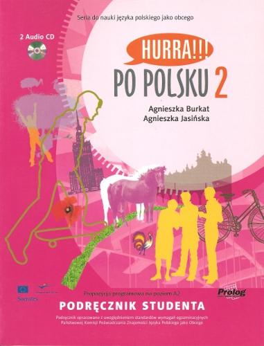 Hurra !!! Po polsku 2 - učebnice + audio CD /2 ks/ - Burkat A., Jasińska A. - A4, brožovaná