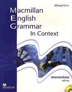 Macmillan English Grammar in Context Intemediate with key + CD-ROM