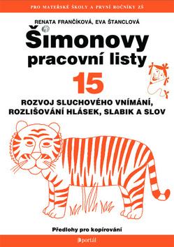 Šimonovy pracovní listy 15 - A4, brožovaná