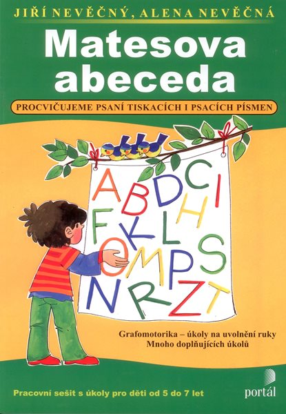 Matesova abeceda - Nevěčný J., Něvěčná A. - A4, brožovaná