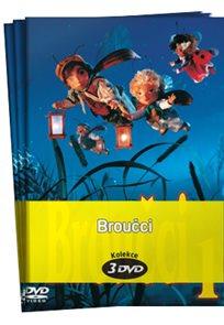 Broučci kolekce 3 DVD