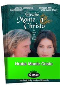 Hrabě Monte Cristo kolekce 4 DVD