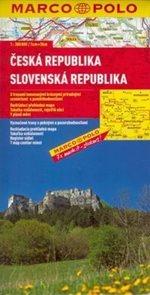 Česká a Slovenská republika - mapa Marco Polo - 1:300 000
