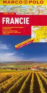 Francie - mapa Marco Polo - 1:800t