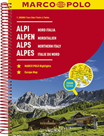 Alpy, Severní Itálie autoatlas 1:300t