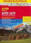 Alpy, Severní Itálie autoatlas 1:300t - A4, 297 stran, spirálová vazba