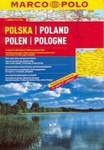 Polsko - autoatlas MarcoPolo - 1:300t