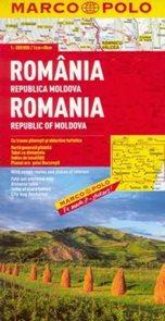 Rumunsko, Moldavsko - mapa Marco Polo - 1:800t