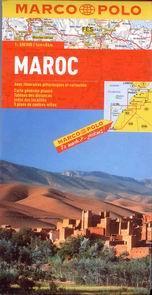 Maroko - mapa Marco Polo - 1:800 000 - rozkládací automapa