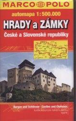 Hrady a zámky ČR a SR 1:500 000 - automapa