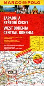 Česká republika 1- západní, jižní a střední Čechy - mapa Marco Polo - 1:200 000