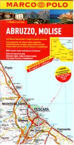 Itálie 10- Abruzzo, Molise -mapa Marco Polo - 1:200 000