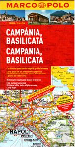 Itálie 12- Campania, Basilicata -mapa Marco Polo - 1:200 000