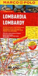 Itálie 2 - Lombardie - mapa Marco Polo - 1:200 000