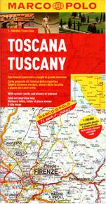 Itálie 7 - Toskánsko - mapa Marco Polo - 1:200 000