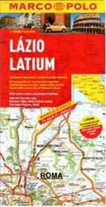 Itálie 9- Lázio - mapa Marco Polo - 1:200 000